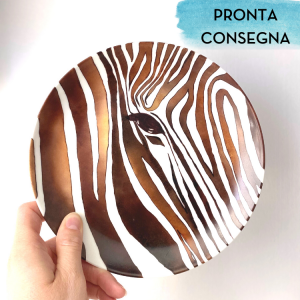 piatto zebra